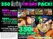 Uptown Aces Mid-March 350 Cash Free Spins Pack!