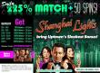 Uptown AcesRTG Shanghai Lights Daily 225% bonus plus 50 FREE Spins