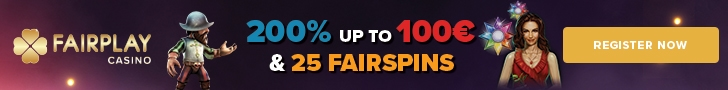 Fairplay Casino 200% up to €100