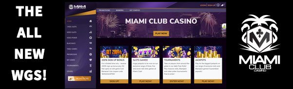 Miami Club Casino New WGS Gaming Services Platform