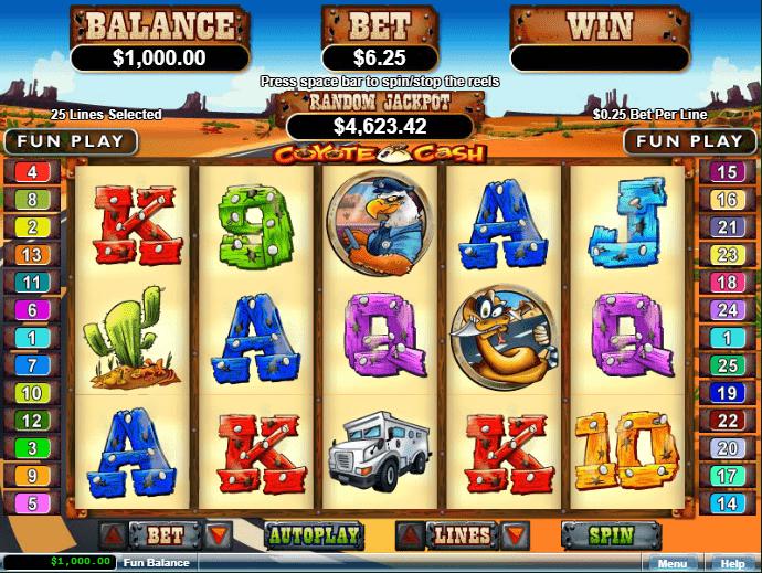 Casino Extreme RTG Coyote Cash