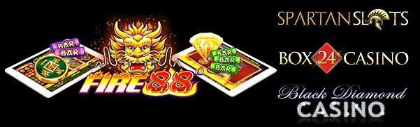 Spartan Slots Box 24 Casino Black Diamond Casino Pragmatic Play Fire 88