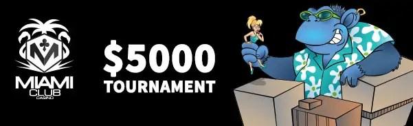 Miami Club Casino $5000 May Tournament WGS Cool Bananas