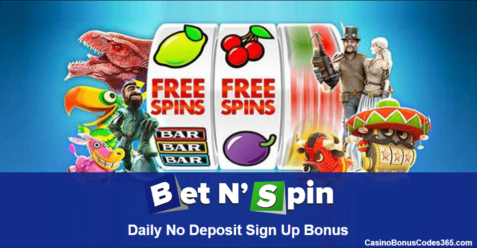 Bet N Spin Daily Exclusive Welcome Bonus