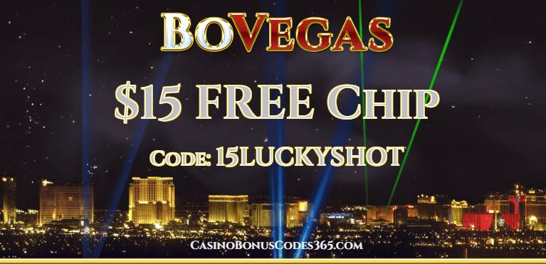 BoVegas Casino $15 FREE Chip