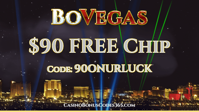 BoVegas Casino $90 FREE Chip