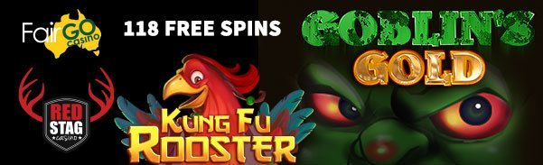 Red Stag Casino Kung Fu Rooster Goblins Gold Kung Fu Rooster