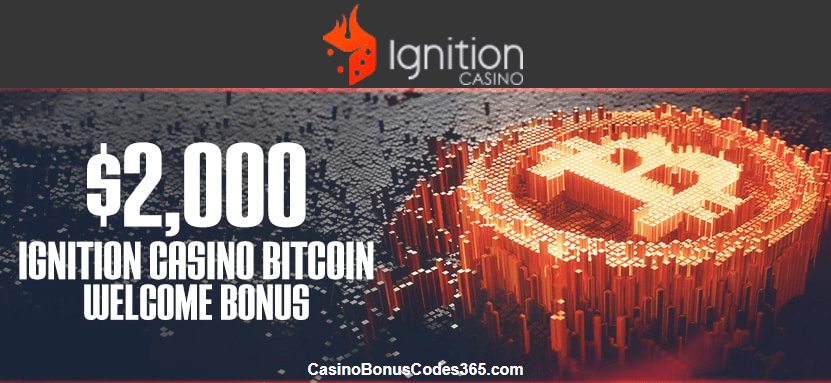 Ignition Casino $2000 Bitcoin Welcome Bonus