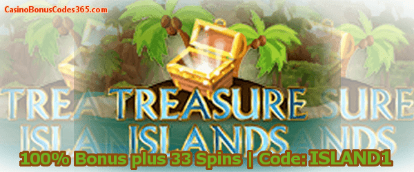 Intertops Casino Red Treasure Islands Cruise First Stop 100% up to $500 plus 33 spins