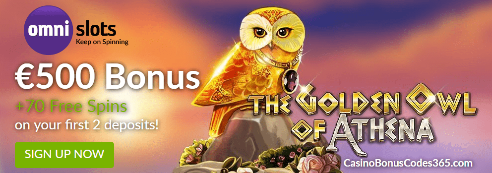 Omni Slots Witchcraft Academy 100% up to €500 plus 70 FREE Spins