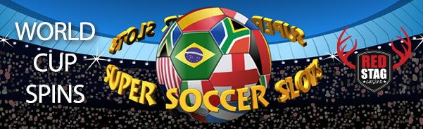 Red Stag Casino WGS Super Soccer World Cup Spins
