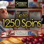 Superior Casino 1250 FREE Spins on Red White and Bleu Rival Gaming