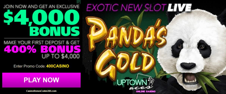 Uptown Aces $4000 Welcome Bonus