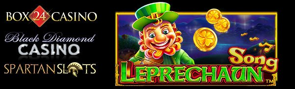 Spartan Slots Box 24 Casino Black Diamond Casino Pragmiatic Play Leprechaun Song LIVE