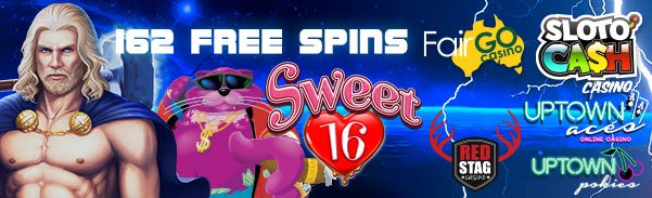 SlotoCash Casino Red Stag Casino Uptown Aces Uptown Pokies Fair Go Casino 162 FREE Spins