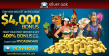 Silver Oak Casino 400% up to $4000 Welcome Bonus