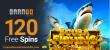Casino Brango RTG Scuba Fishing New Game 120 FREE Spins
