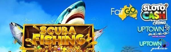 SlotoCash Casino Uptown Aces Uptown Pokies Fair Go Casino RTG Scuba Fishing