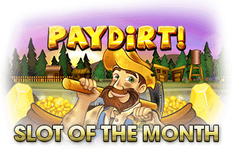 Intertops Casino Red September Slot of The Month RTG Paydirt