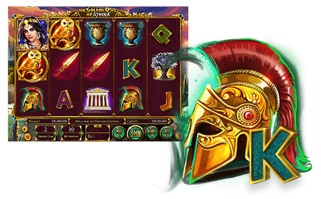 Omnislots Betsoft The Golden Owl of Athena