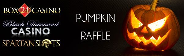 Spartan Slots Box 24 Casino Black Diamond Casino Halloween Pumpkin Raffle
