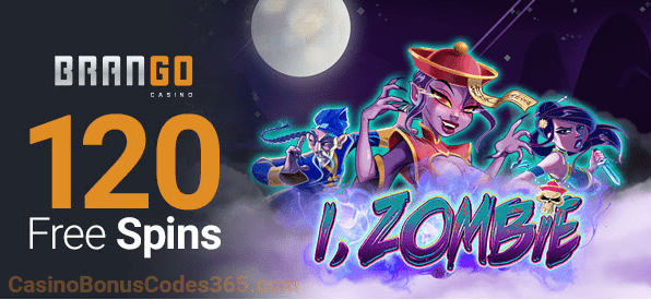 Casino Brango RTG i Zombie New Game 120 FREE Spins