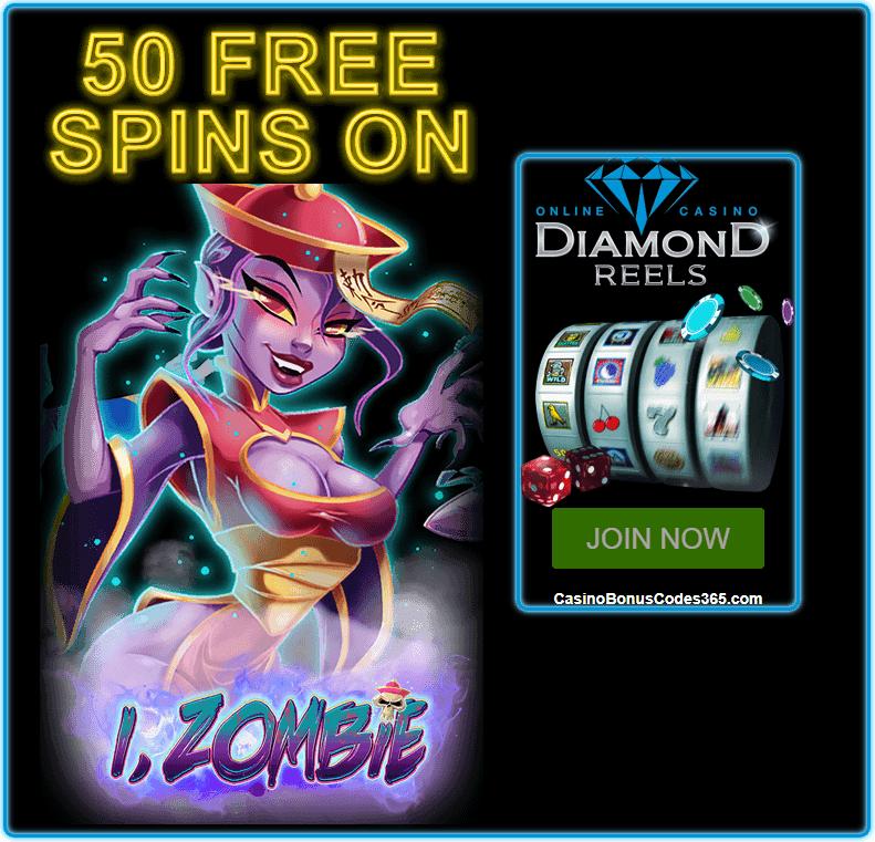 Diamond Reels Casino 50 FREE i Zombie RTG