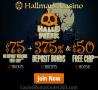 Hallmark Casino 375% Bonus plus $125 FREE Chip HalloWeek Special Promo