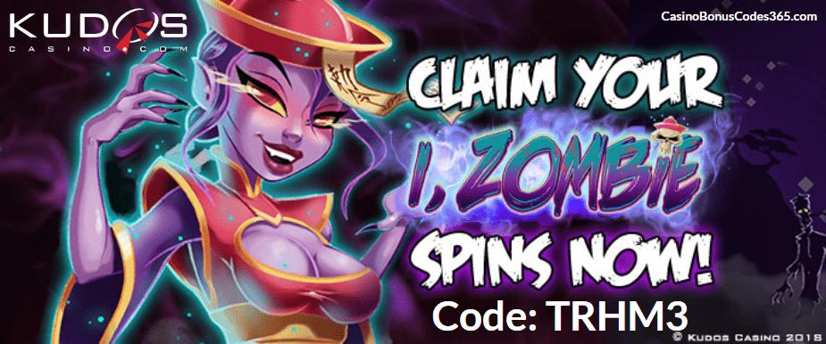 Kudos Casino New RTG Game Triple FREE i Zombie Spins