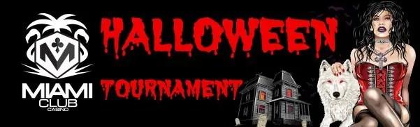 Miami Club Casino WGS Month Long Tournament Vampire Vixen Halloween October