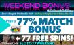 SlotoCash Casino Naughty or Nice III Weekend Bonus