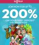 Slots.LV 200% Match First Deposit Bonus