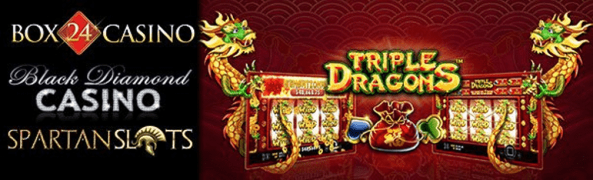 Black Diamond Casino, Box 24 Casino and Spartan Slots Pragmatic Play Triple Dragons