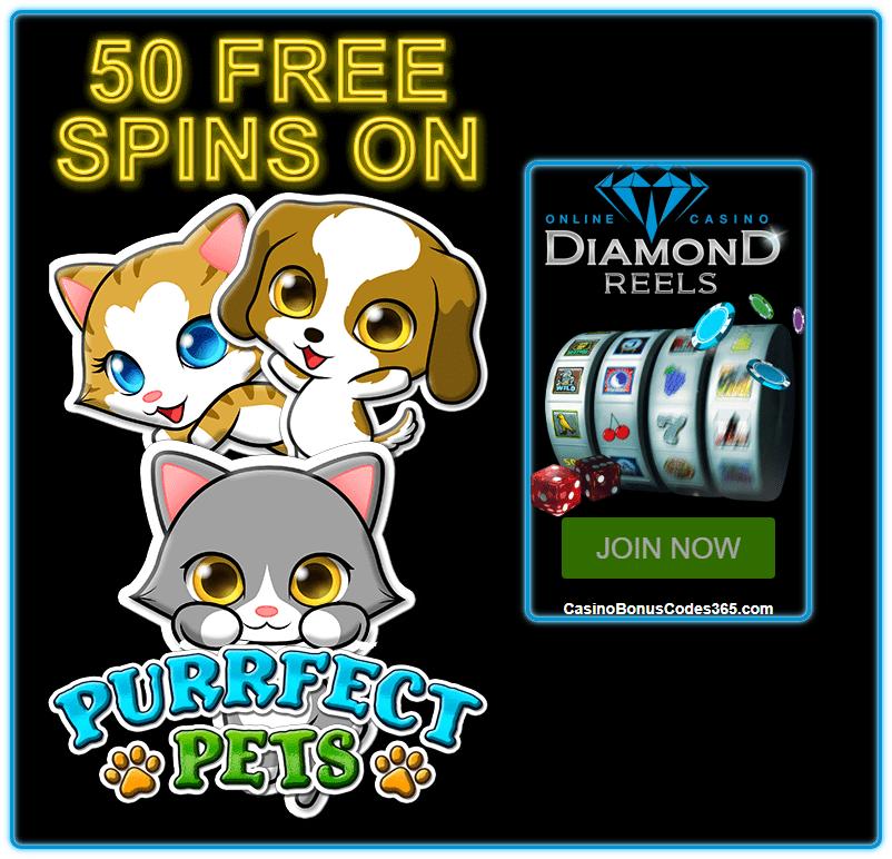 Diamond Reels Casino 50 FREE Hen House RTG