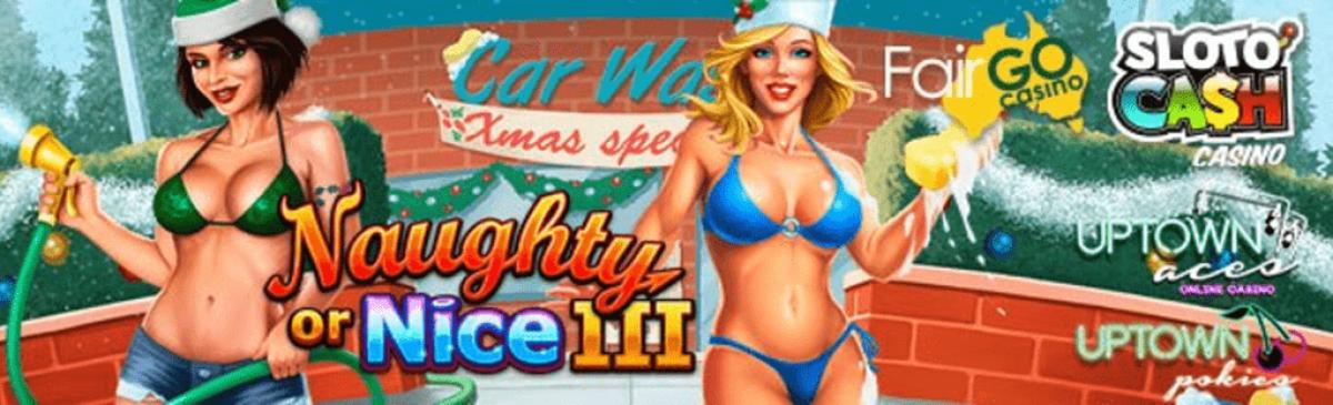 SlotoCash Casino, Uptown Aces, Uptown Pokies Fair Go Casino RTG Naughty Or Nice III