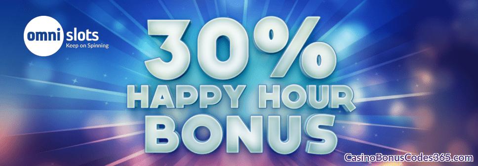 Omni Slots Happy Hour Bonus