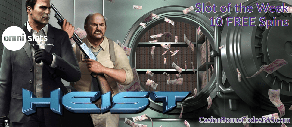 Omni Slots Slot of the Week Heist