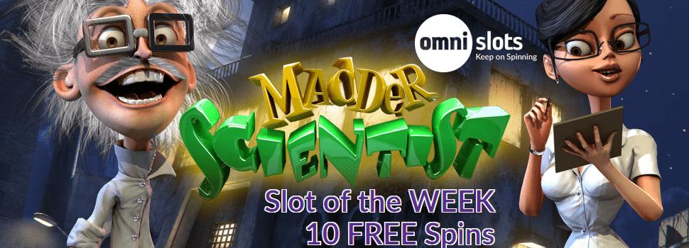 Omni Slots Slot of the Week Madder Scientist