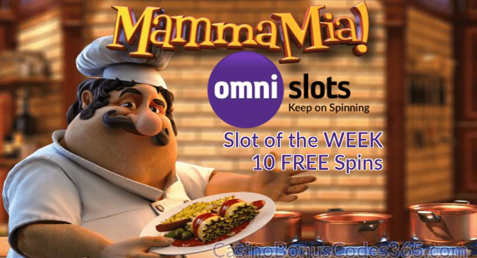 Omni Slots Slot of the Week Mamma Mia