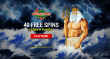Vegas2Web Casino 40 FREE Spins Exclusive Deal Rival Gaming Rise of Poseidon
