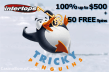 Intertops Casino Red Tricky Penguins Bonuses