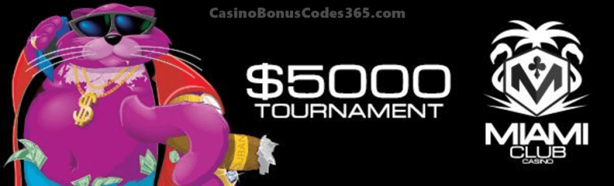 Miami Club Casino $5000 December Month Long Tournament