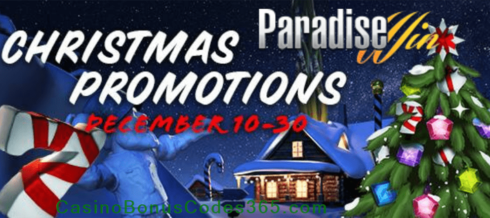 ParadiseWin Christmas Promotions