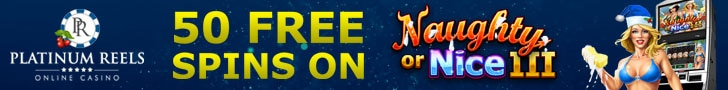 Platinum Reels Exclusive 50 FREE RTG Asgard Spins