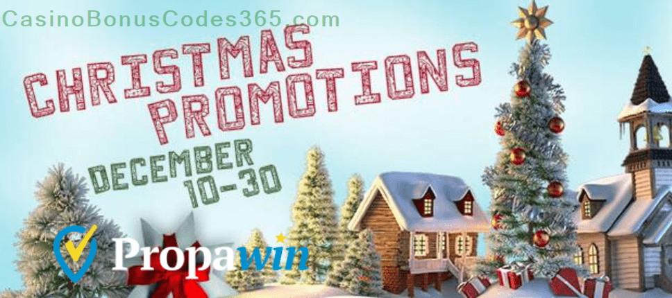 PropaWin Christmas Promotions