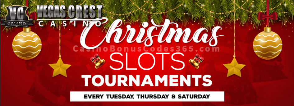 Vegas Crest Casino Christmas Slots Tournament