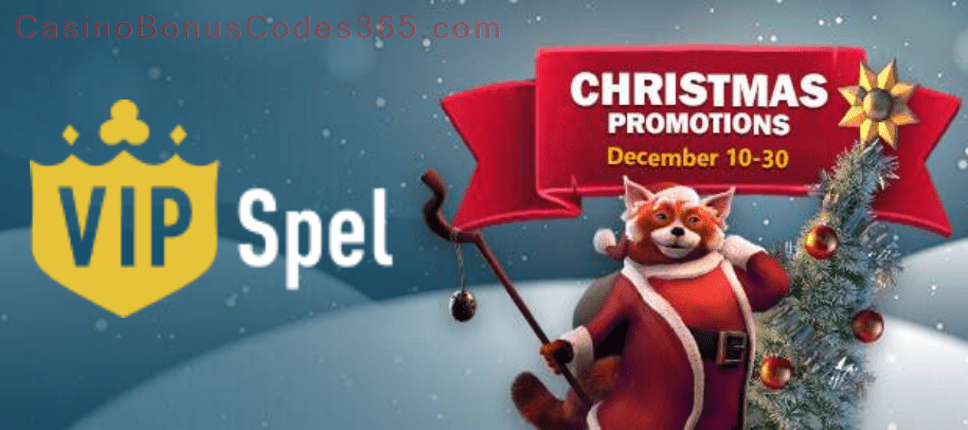 VIP Spel Christmas Promotions
