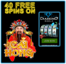 Diamond Reels Casino Exclusive 40 FREE RTG Cai Hong Spins