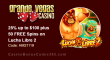 Grande Vegas Casino 25% up to $100 plus 50 FREE RTG Lucha Libre 2 Spins Special Promo