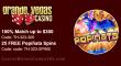 Grande Vegas Casino 150% up to $300 Bonus plus 25 FREE Popiñata Spins